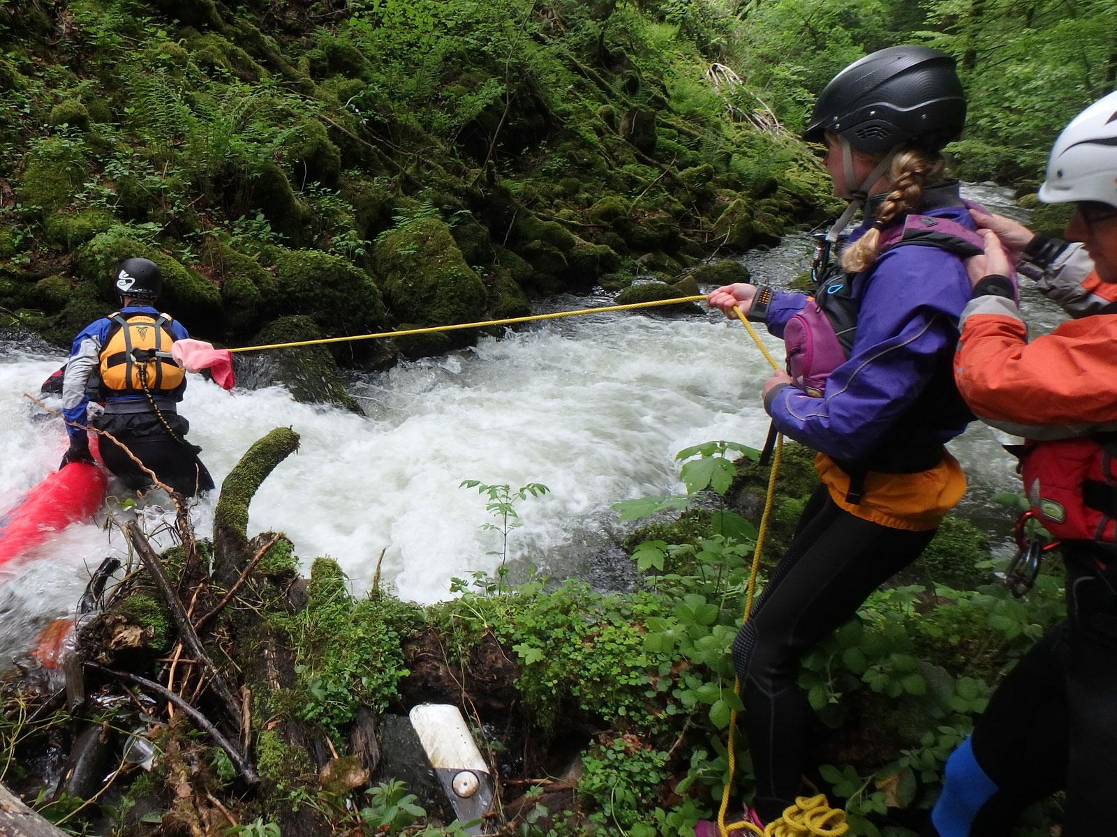 Veiligheid en EHBO river rescue cursussen en trainigen