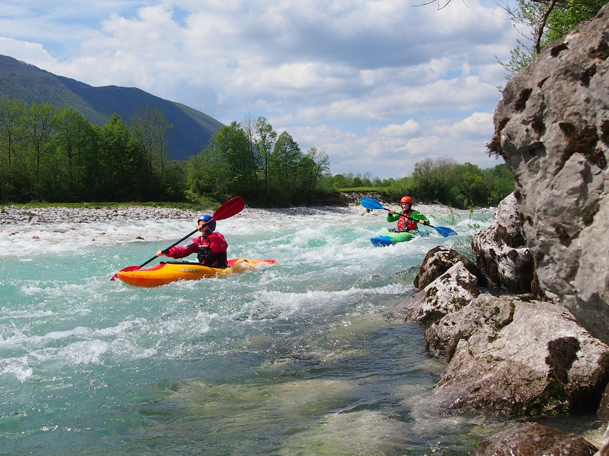 Europagaai heeft de leukste wildwaterkajak vakanties op elk kajak niveau!