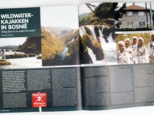 Kajakreizen - Wildwaterkajakken in Bosnië