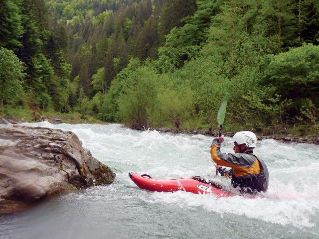 Kajakreizen in Oostenrijk Gail
