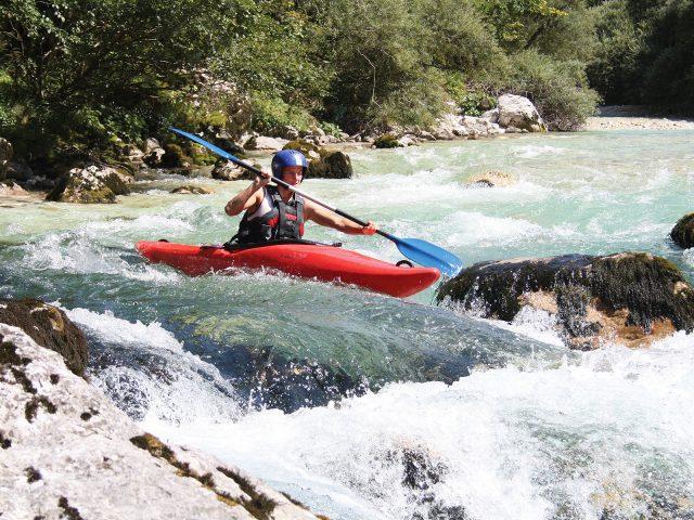 Kajakreizen in Slovenië Julische Alpen