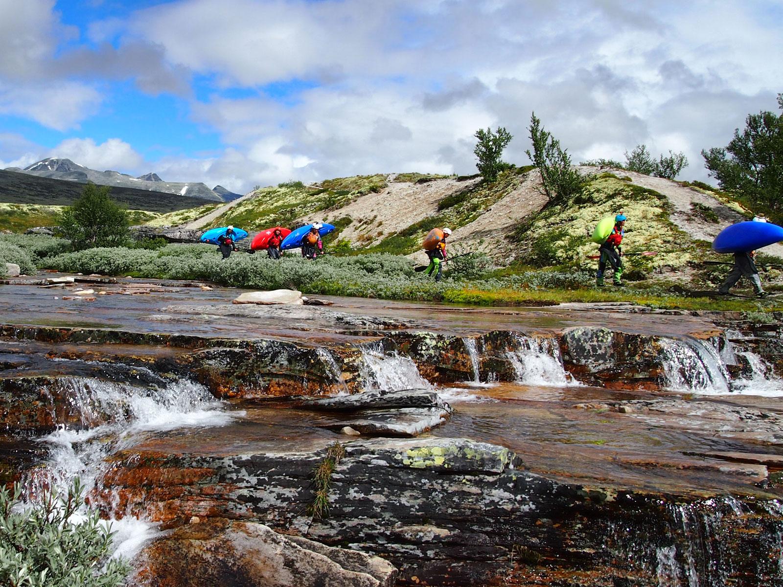 Wildwaterkajakken in het prachtige Noorwegen!