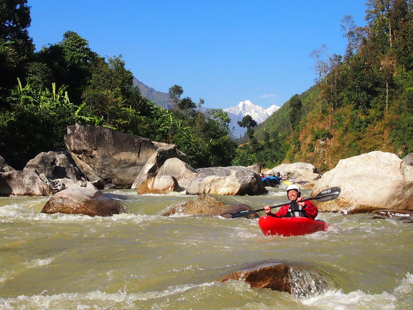 Unieke wildwaterkajak expeditie in de Himalaya in Nepal