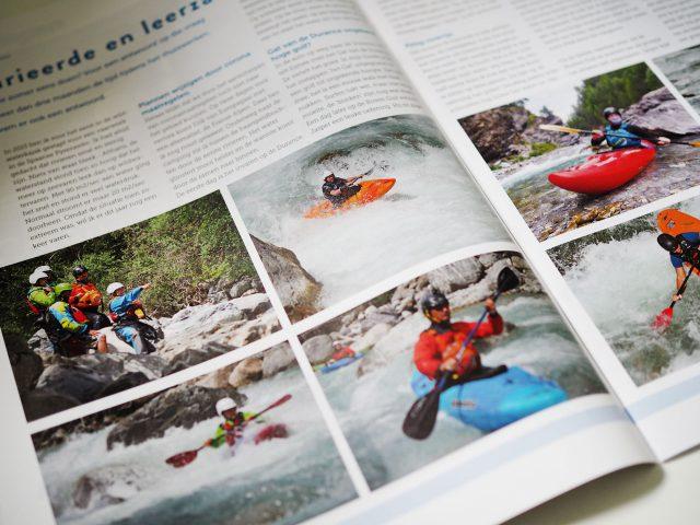 Kajakreizen - Gevarieerd en leerzame week wildwatervaren in de Franse Alpen