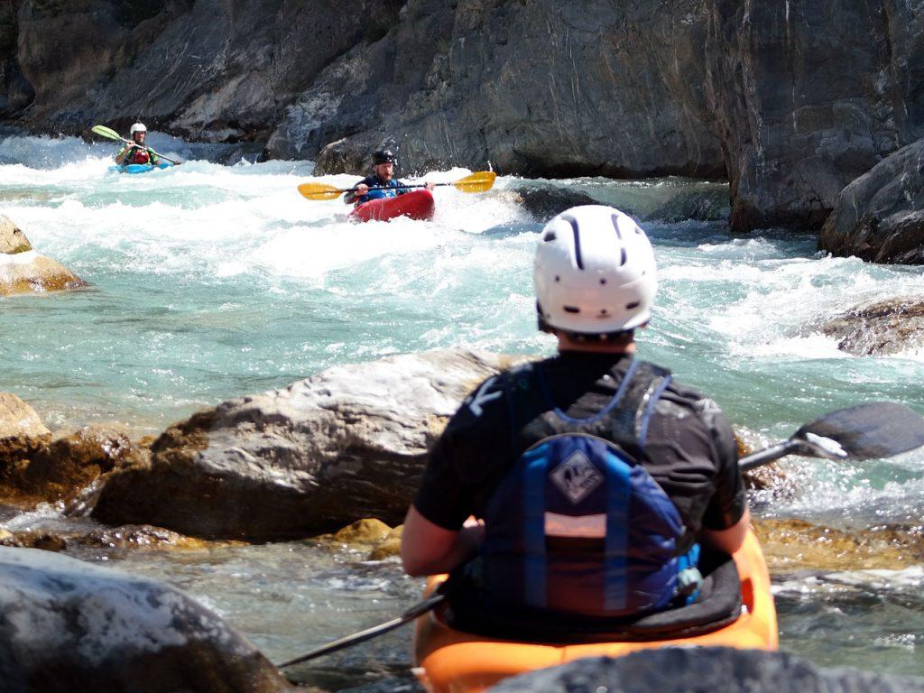 Wildwatervaren in de Franse Alpen op de mooiste rivieren.
