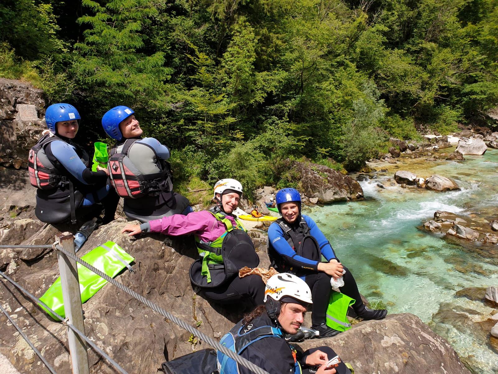 Wildwatervakantie met Europagaai in de Julische Alpen in Slovenië