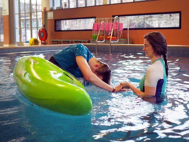 Kajakreizen in Zwembad Oisterwijk