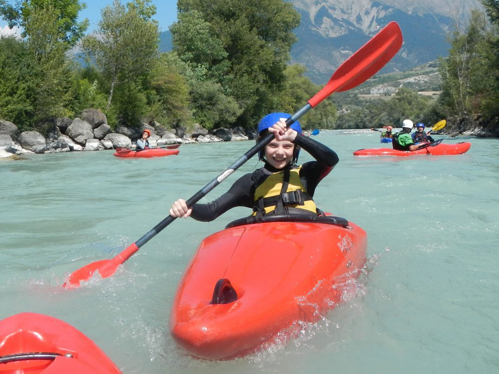 Een van de leukste activiteiten, kanoën met mijn vader!